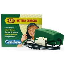 Kit Caricabatterie 6v 0,65 Ah. Dotato Di Una Spia Led Che Diventa Verde Quando La Batteria È Carica - Cb0301