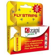 Trappola Adesiva Per Insetti Volanti Fly Strips 4 Pezzi