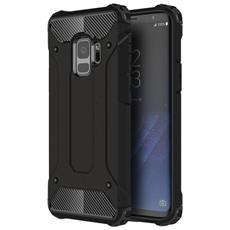 Custodia Tpu Silicone Morbido Con Copertura Plastica Rigida Per Smartphone Samsung Galaxy S9