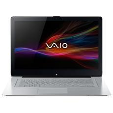 "VAIO Fit 14 Monitor 14"" Intel Core i3-4005U Ram 4GB Hard Disk 500GB + SSD 8GB Tecnologia NFC 2xUSB 3.0 Windows 8 - Silver"