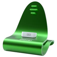 Icrado Stand Iphone / Ipod Usb Green Kn-8240