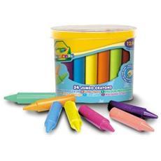 Colora Mini Kids 24 Maxi Pastelli a Cera 0784