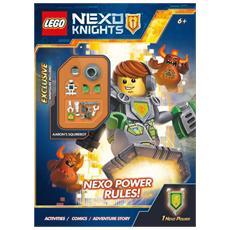 Lego - Nexo Knights - La Battaglia Dei Libri (Libro+Minifigure)