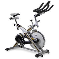 Mkt Jet Bike Pro H9162rf Indoor Bike Con Volano D'inerzia Da 22 Kg E Freno A Frizione