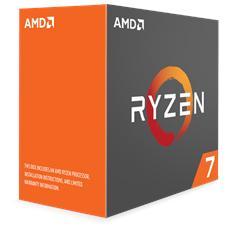 Processore Ryzen 7 1800X (Zen) 8 Core 3.6 GHz Socket AM4 Boxato Moltiplicatore Sbloccato (Dissipatore Escluso)