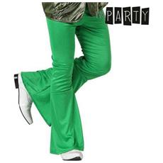 Pantalone Per Adulti Th3 Party Disco Verde M / l