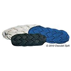 Zerbino nylon 72 x 37 cm blu