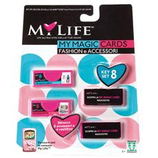 My Life magic Cards Fashion con Accessori
