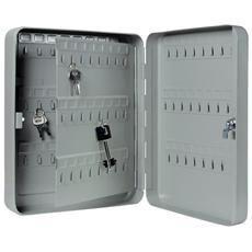 Cassetta portachiavi 48 posti in lamiera pesante con serratura a cilindro