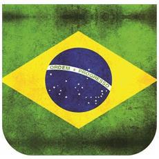 Borsa tracolla rettangolare Jazz 1.0 Mod. Brazil Old Flag