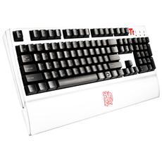 Tastiera PC Connessione USB Layout Tedesco Bianca KB-MGU006GRE