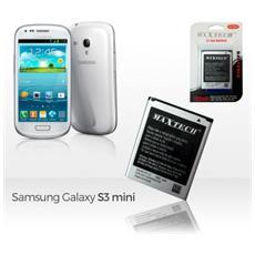 Batteria Compatibile Samsung Galaxy S3 Mini Galaxy Ace 2 E Successivi Maxtech 1900mah T010