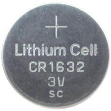 Set 5 Batteria Batterie Pile A Bottone Cr1632 Cr 1632 Litio 3v
