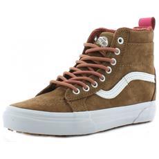 Skate Scarpe Donna Pelle Scamosciata Marroni 37
