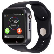 "Smartwatch A1 Display 1.54"" Bluetooth con SIM + SD / TF e Cronometro Antracite - Europa"