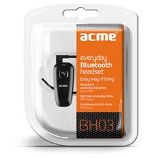 BH03, Monofonico, Aggancio, Nero, Bluetooth, Ogni marca, 2.0+EDR