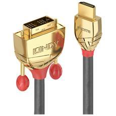 36196 HDMI DVI-D Grigio cavo di interfaccia e adattatore