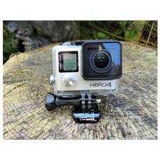 HERO4 Black Adventure Edition Action Cam Filmati Ultra HD 4K Modalità foto 12 Mpx Impermeabile fino a 40m Wi-Fi Bluetooth