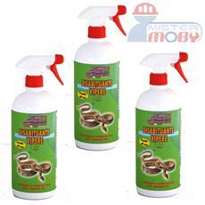 Repellente disabituante allontana vipere serpenti e rettili naturale spray 3x 1 lt