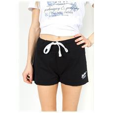 Shorts Ny Donna Fiammato Nero M