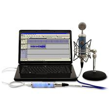 Icicle, XLR, USB, Maschio / femmina, Blu, Argento, USB, USB 1.0/2.0 64 MB RAM