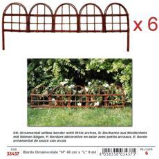 Bordo Ornamentale Per Giardino Fantasy ''l'' 6 Mt