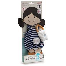 Vestitino Corto Con Borsetta Per Bambola Minilotta