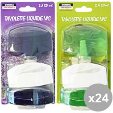 Set 24 Tavolette Wc Liquida 2 Pezzi Casre5230 Detergenti Casa