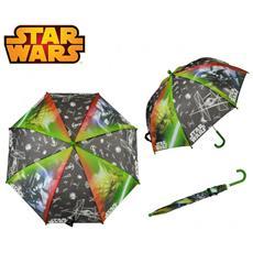Sw92214 Ombrello Da Pioggia Per Bambino Verde 57 Cm Verde E Nero