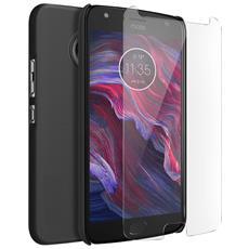 Cover Motorola Moto X4 - Kit Protezione Nero + Pellicola Schermo Nillkin