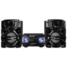 Sistema Mini Hi-Fi AKX660 Lettore CD Supporto MP3 Potenza Totale 1700W Bluetooth USB RICONDIZIONATO