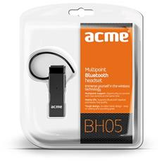 BH05, Monofonico, Aggancio, Nero, Bluetooth, Ogni marca, 2.1+EDR