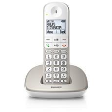 """Telefono Cordless Argento 1.9"""" 12 x 7 Pixel XL4901S / 23"""