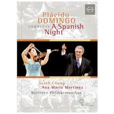 Placido Domingo Sarah Chang Berlin Philarmonica - A Spanish Night Sarasate Fantasy On Carmen Rimsky Korako Capriccio Espanol