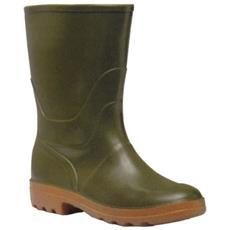 Stivali Gomma Forest Tronchetto 45 Verde