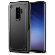 Custodia Tpu Silicone Morbido Con Copertura Plastica Rigida Per Smartphone Samsung Galaxy S9 Plus