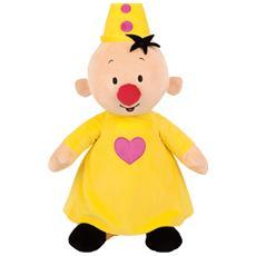 Bumba plush, Toy clown, Beige, Giallo, Felpato