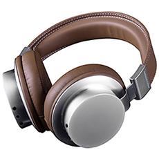 MC-1500HF Padiglione auricolare Stereofonico Cablato Marrone, Acciaio spazzolato auricolare per telefono cellulare