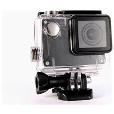 """Action Cam Pro Sensore 12Mpx Full HD Display 1.5"""" Impermeabile"""