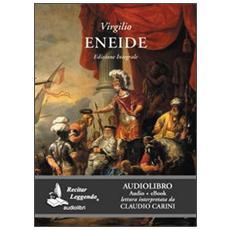 Eneide. Audiolibro. CD Audio formato MP3