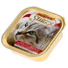 Cibo per gatti Cat con Pollo e Fegato 100 gr