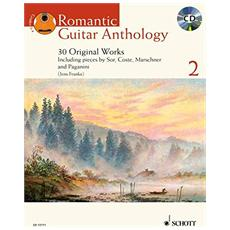 Romantic Guitar Anthology: 30 Original Works & Transcriptions Selected And edited By Jens Franke: 2
