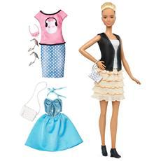 MATTEL - Barbie Fashionista E Moda - Rock'N Roll