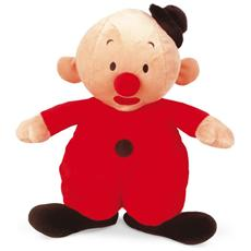 Bumbalu plush, Toy clown, Beige, Rosso, Felpato