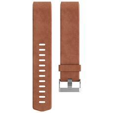 Cinturino di ricambio per Charge 2 in vera pelle Taglia Large - Marrone