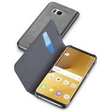 Flip Cover Custodia a Libro per Galaxy S8 Plus colore Nero