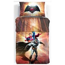 Trapuntino Copriletto Trapuntato 1 Piazza Letto Singolo Batman Vs Superman Disney Stampa Digitale