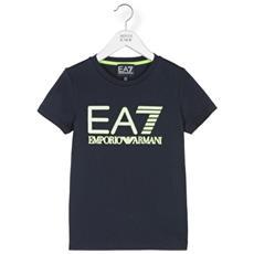 T-shirt Junior Train Visibility Blu Variante 1 8a