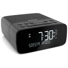 Siesta S2 (Graphite) Orologio Analogico e digitale Grafite radio