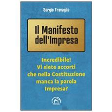Il manifesto dell'impresa